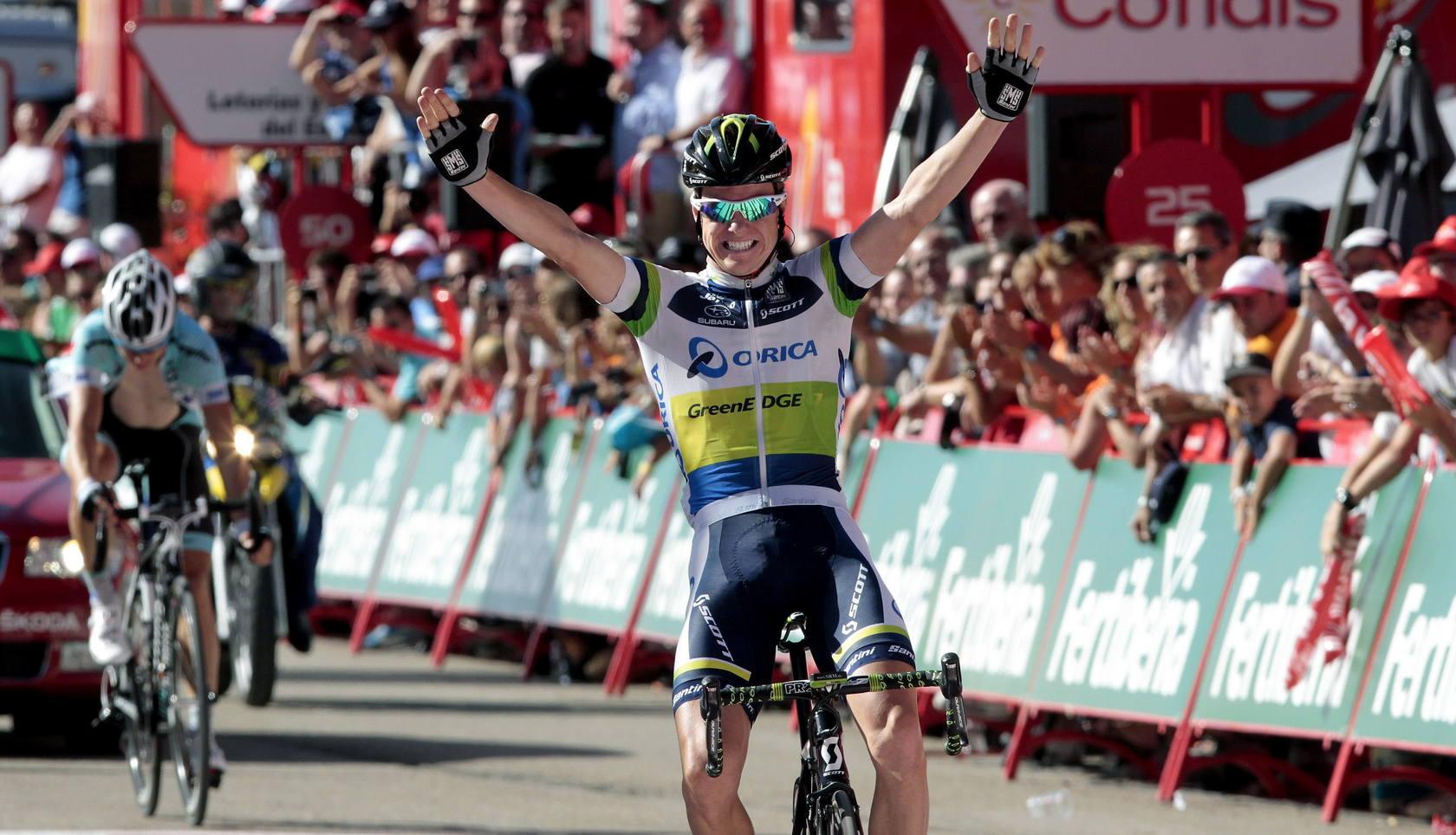 La mejores imágenes de la cuarta etapa de la Vuelta a España 2012