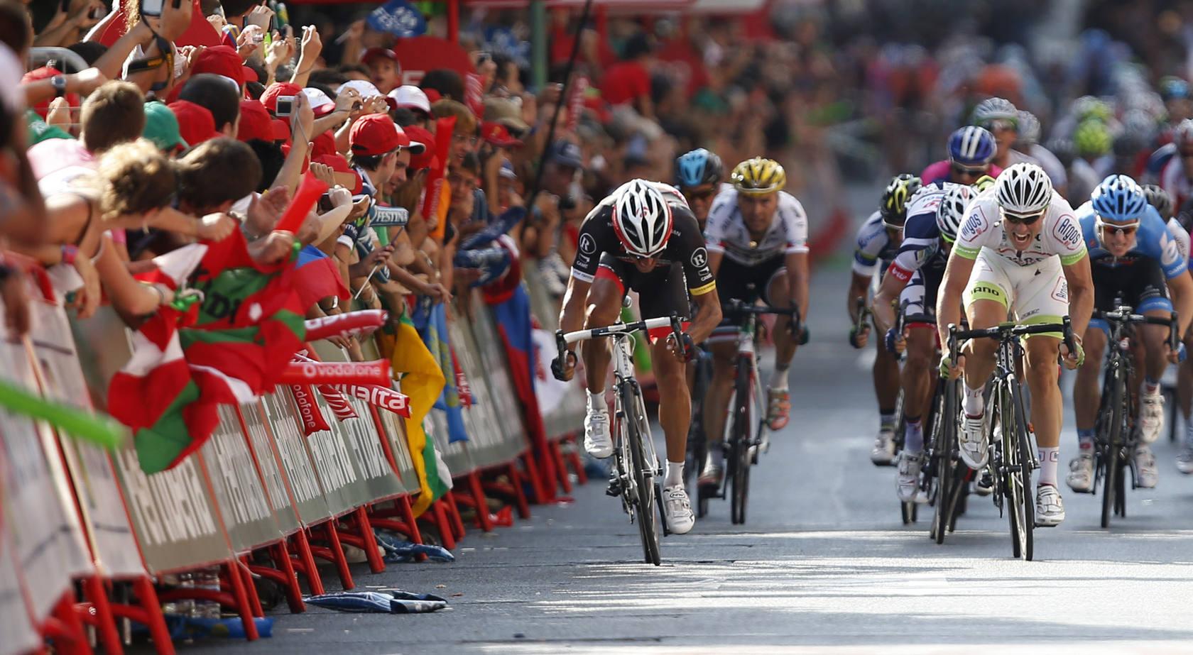 Las mejores imágenes de la quinta etapa de la Vuelta