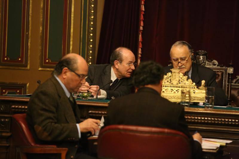 Pleno en el Ayuntamiento de Bilbao (28-02-2013)