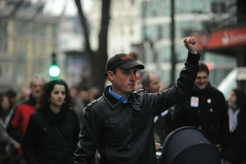 Fotos de la manifestación contra la LOMCE en Bilbao