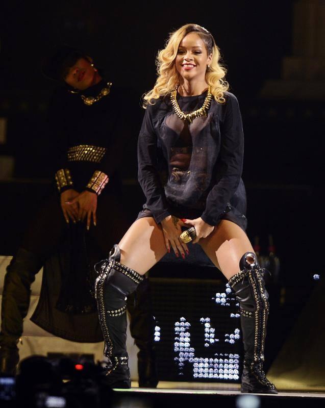 Fotos del concierto de Rihanna en el BEC