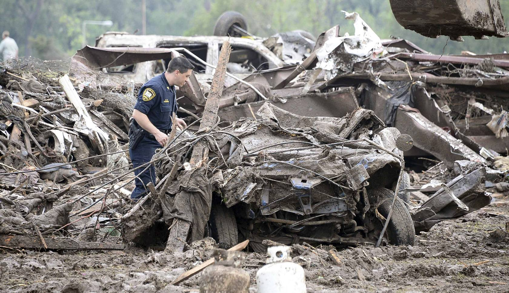 Un gigantesco tornado sacude Oklahoma