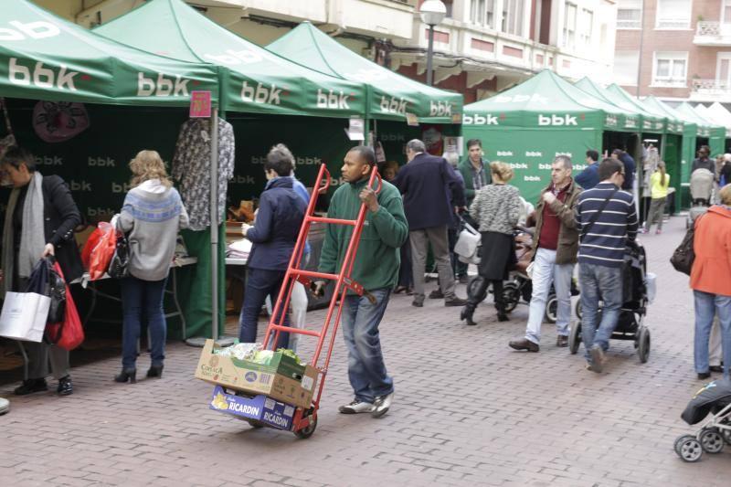 Fotos del Shopping Eguna de Bilbao