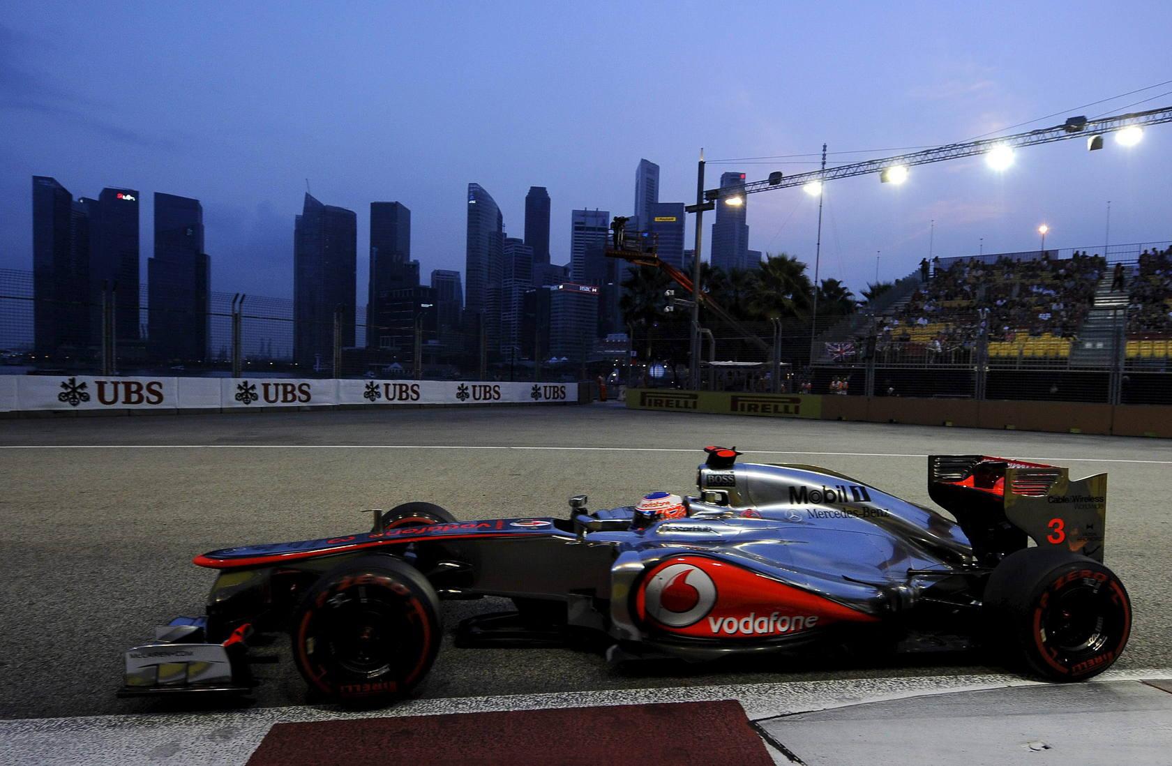 Clasificación del Gran Premio de Singapur