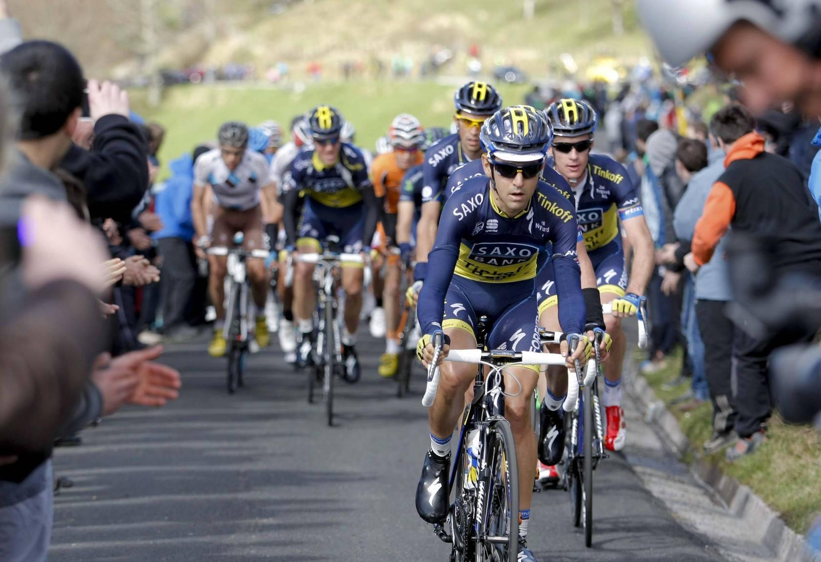Primera etapa de la Vuelta Ciclista al País Vasco 2013