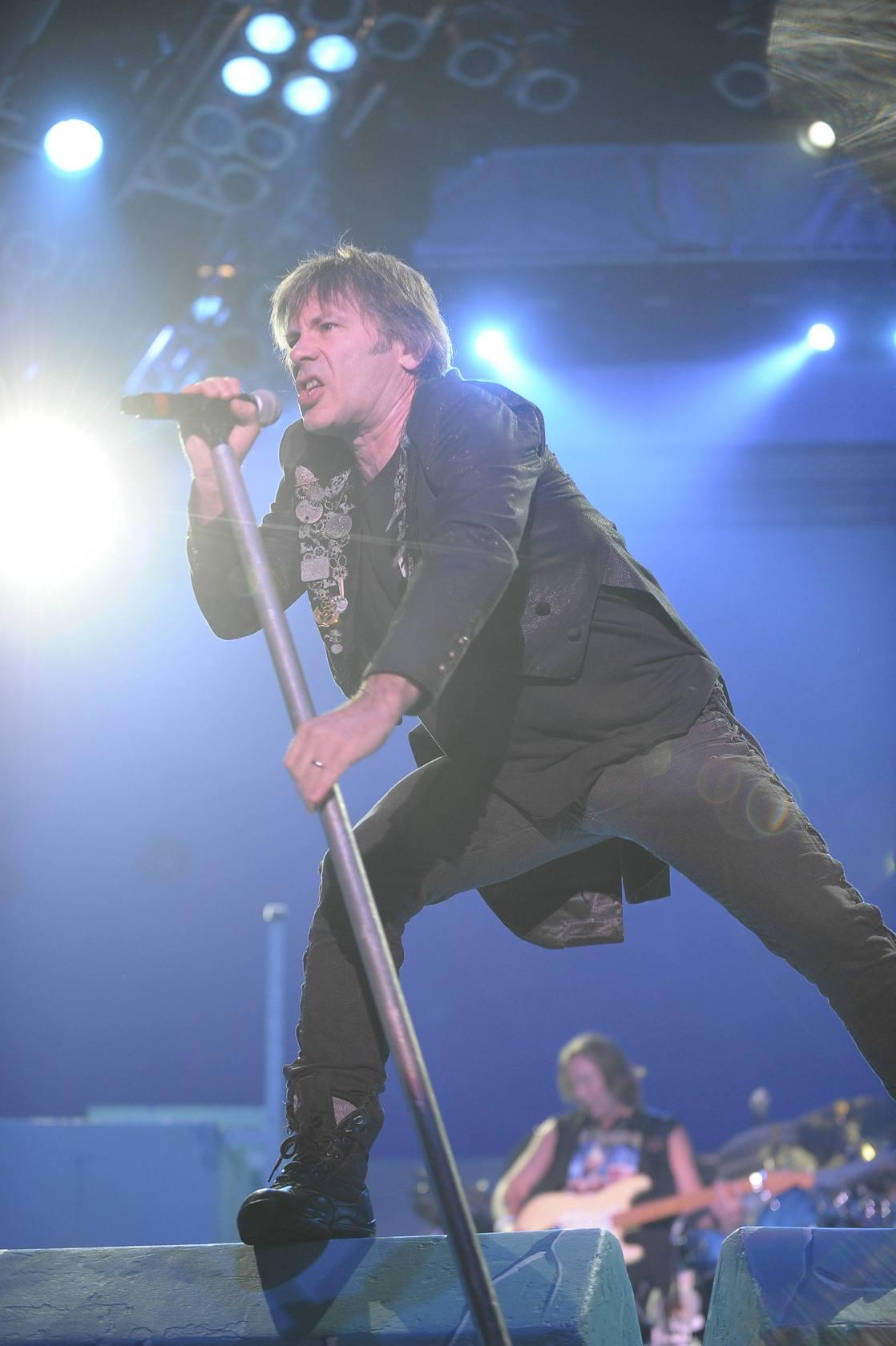Fotos del concierto de Iron Maiden en el BEC