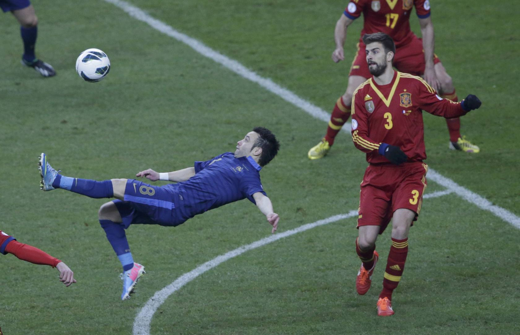 Francia-España (Clasificación para el Mundial de Brasil 2014)