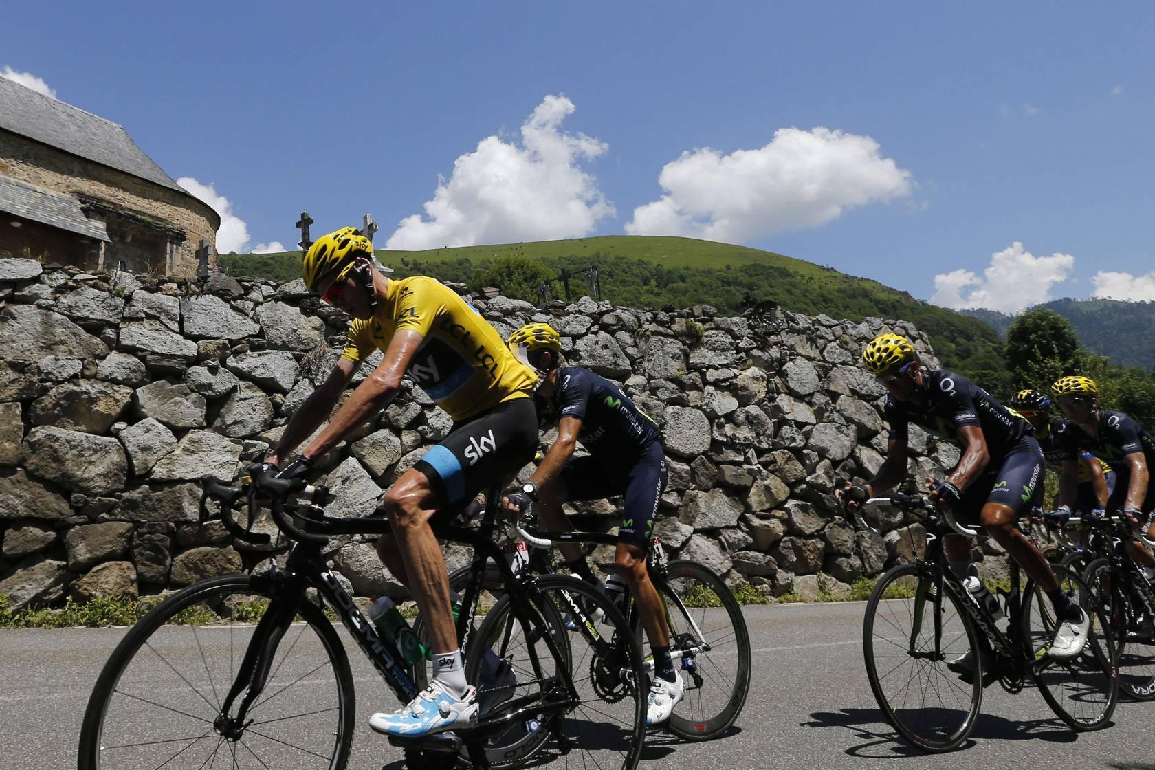El irlandés Martin gana 9ª etapa del Tour , Froome sigue líder