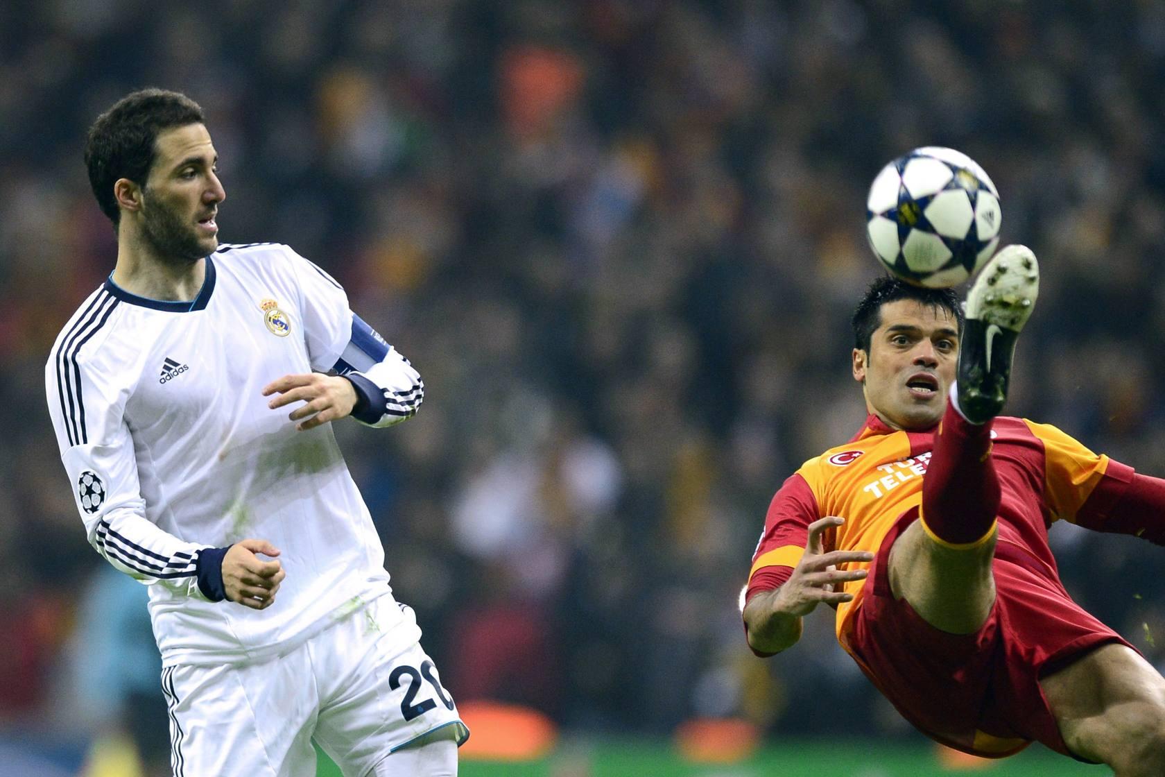 Galatasaray-Real Madrid (vuelta de cuartos de final de la Liga de Campeones)
