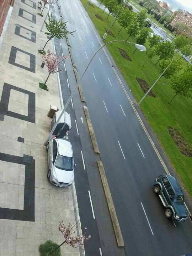 Radar móvil de la Policía Local: el coche más fotografiado de Vitoria