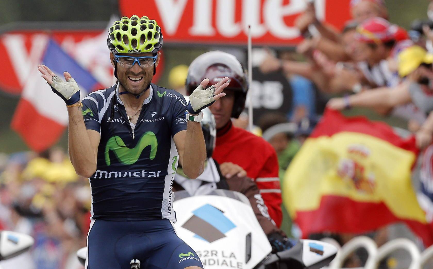 Valverde triunfa en el Peyragudes