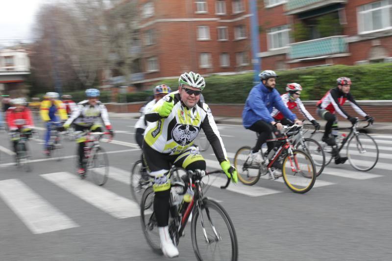 Marcha cicloturista Bilbao - Bilbao 2013